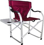 Ming's Mark Inc SL1215-BURGUNDY H.D. DIRECTOR'S CHAIR BURGUNDY