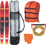 Jobe Sports International 208817101 COMBO SKI KIT ALLEGRE 67IN RED