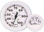 Faria 13122 DRESS WHITE TRIM GAUGE FOR