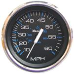 Faria 13701 CHES S/S BLK FUEL LEVEL GAUGE