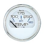 Faria 13801 CHESAPEAKE SS WHITE FUEL GAUGE