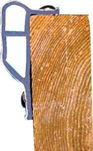 Dock Edge 1134-F DOCK GUARD WHITE 6FT (4/BOX)