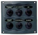 Marinco_Guest_AFI_Nicro_BEP 900-6WP SWITCH PANEL 6 GANG GRAY