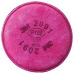 3M Marine 2091P100 P100 PARTICULATE FILTER (2/BG)