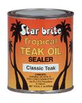 Starbrite 88016 TROPICAL TEAK SEALER DARK PIN