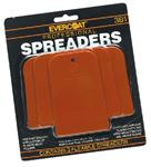 Evercoat 1100381 PLASTIC SPREADER KIT (3/CD)