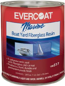 Evercoat 100517 BOATYARD RESIN GALLON W/WAX