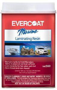 Evercoat 100561 LAMINATING RESIN QUART NO WAX