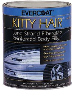 Evercoat 100868 KITTY HAIR REINFORCE FILLER-QT