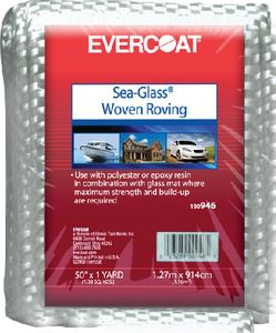 Evercoat 100946 WOVEN ROVING 50 IN.X1 YD 24 OZ