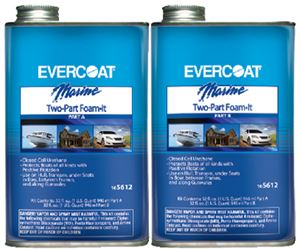 Evercoat 105612 FOAM-IT FLOTATION KIT  1/2 GAL