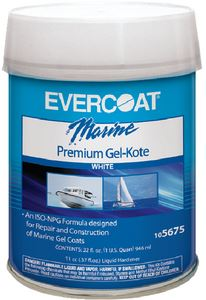 Evercoat 105673 GEL KOTE- WHITE PINT
