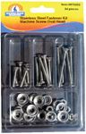 Handiman 970202 SS OVAL MACHINE SCREW KIT