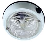 Perko 1253DP1WHT 4  EXTERIOR DOME LIGHT WHT