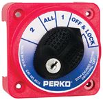 Perko 8512DP COMPACT BATTERY SWITCH W/LOCK