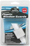 Armada by Camco 65523 PLASTIC WINDOW GUARD 1  6/PK