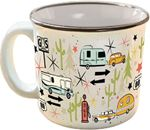 Camp Casual CC-004C THE MUG-WANDERLUST WHITE