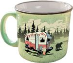 Camp Casual CC-004G THE MUG-BEARY GREEN
