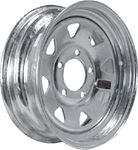 Loadstar Tires 20124 12X4 SPK 4H-4.0 GALV RIM ONLY