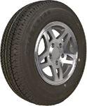Loadstar Tires 31999JF ST175/80R13 C/5H SPLIT SPK ALU