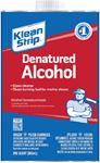 Klean Strip QSL26W DENATURED ALCOHOL QT @4