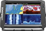 ELITE-12Ti TOUCHSCREEN CHIRP FISHFINDER/GPS/CHARTPLOTTER (LOWRANCE)