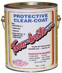 ALUMINUM METAL & FIBERGLASS PROTECTIVE CLEAR-COAT (TOONBRITE)
