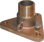 NPS TO NPT FLANGED BRONZE ADAPTORS (GROCO)