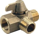 3-WAY BRASS DIVERTER VALVE (JR)
