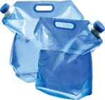 EXPANDABLE WATER CARRIER BLUE/CLEAR (CAMCO)