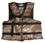 CAMO ADULT BOATING VEST (STEARNS)
