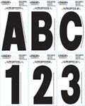 DYER<sup>®</sup> FONT INDIVIDUAL LETTERS & NUMBERS (HARDLINE PRODUCTS)